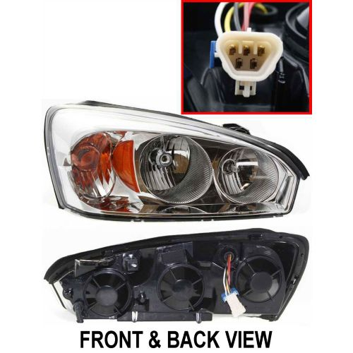 Brand New Front Healamp Lens Cover And Back Housing Gm2503235