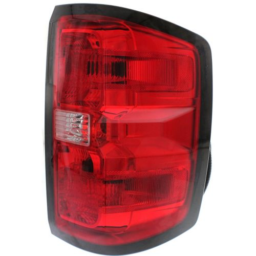 1222 1218r 2014 2015 chevrolet silverado tail light assembly right. Black Bedroom Furniture Sets. Home Design Ideas