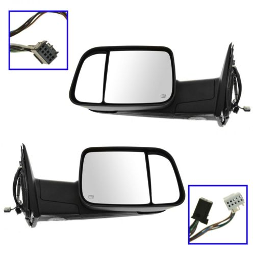 Dodge Ram Flip Up Tow Mirrors At Monster Auto Parts