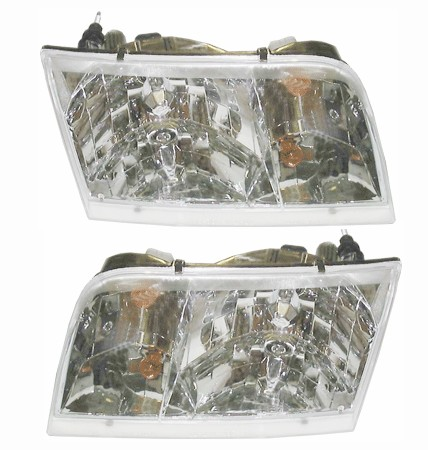 Crown Victoria Headlights Pair