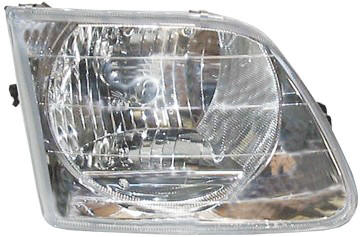 ford f 150 truck replacement head light lens lightning package right at monster auto parts. Black Bedroom Furniture Sets. Home Design Ideas
