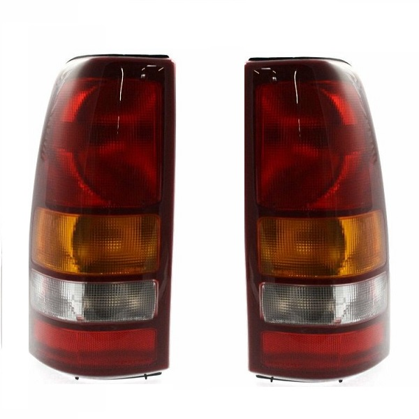 2004 2005 2006 CHEVY Z71 FACTORY STYLE RED BRAKE TAIL LIGHTS TAIL LAMPS
