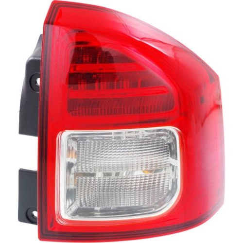 Jeep Tail Light Lenses : Jeep compass tail light lens assembly at monster auto parts
