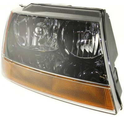 grand cherokee headlight assembly at monster auto parts. Black Bedroom Furniture Sets. Home Design Ideas