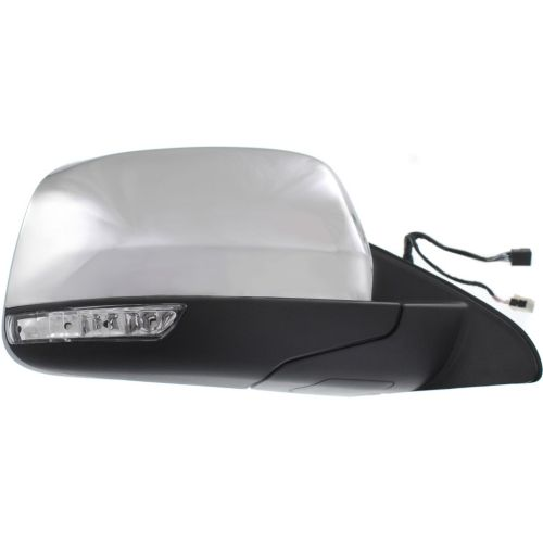 jeep exterior mirror with signal chrome ch1321358