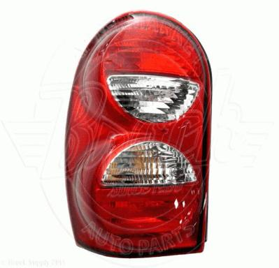 Jeep Liberty Tail Light Emblies Rear Lamp Lens And Housing Embly