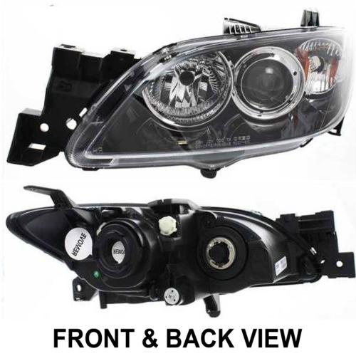 Mazda 3 Front Replacement Headlamp Built To Oem Specifications Complete And Ready Install Ma2518108