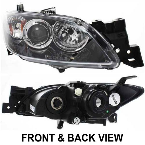 mazda 3 2004 hatchback headlights