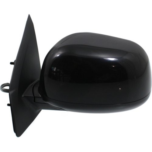 NEW LEFT SIDE POWER MIRROR BLACK FITS 2007-2009 MITSUBISHI OUTLANDER MI1320135