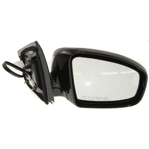 NEW RIGHT POWER MIRROR SMOOTH BLACK FITS 2003-2004 NISSAN MURANO NI1321152