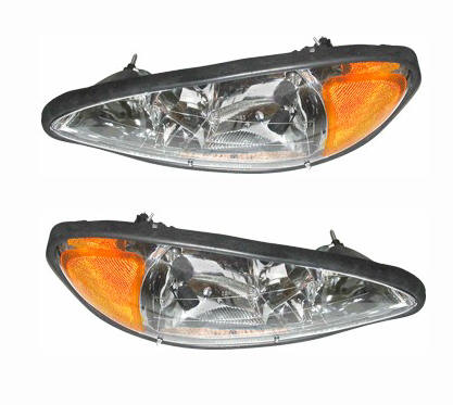 pontiac grand am replacement headlights at monster auto parts. Black Bedroom Furniture Sets. Home Design Ideas