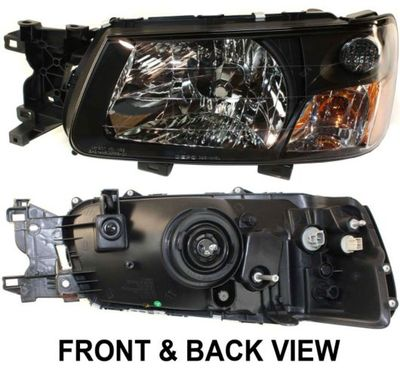 Forester Headlamp Lens And Housing Embly