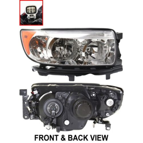 Replacement Subaru Forester Headlight Built To Oem Specifications Brand New Direct Bolt On